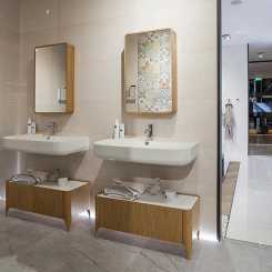 Porcelanosa River в интерьере