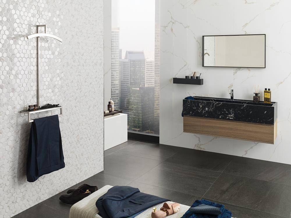 Настенная плитка для ванной porcelanosa persia 120x45